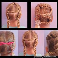 Okay so technically this is for kids hairstyles, but these look so fun!!!  Must remember this site. :)  I'm gonna do these to my hair.