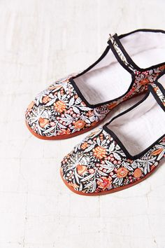 Printed Mary Jane - Urban Outfitters
