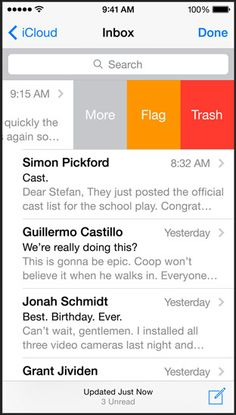 Apple - iOS 8 - Design