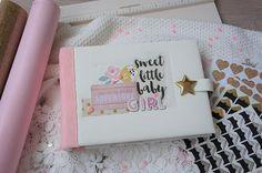Newborn Photo Album Baby Girl Photo Album Baby Scrapbook