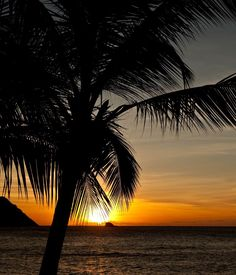 This beautiful Caribbean beach sunset scene awaits you at The BodyHoliday on the island of St. Lucia