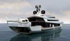 Paradigm yacht concept by Pama Architteti Yacht Design _