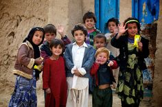We touch other people's lives simply by existing. ~J.K Rowling  Afghan Children