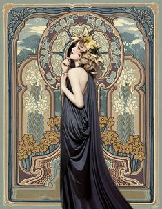 art nouveau by Bottlesorter