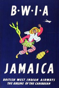 BWIA - Jamaica, Aldo Cosomati, 1953