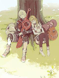 [Xenoblade] Shulk e Fiora Xenoblade Chronicles Wii, Xeno Series, Character Art, Character Design, Best Rpg, Cool Anime Girl, Super Smash Bros, Fire Emblem, Game Art