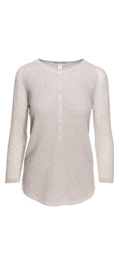Autumn Cashmere Thermal Stitch Henley in Sweatshirt / Manage Products / Catalog / Magento Admin