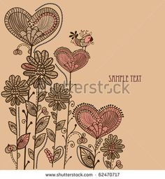 Vintage Flowers Vectores en stock y Arte vectorial   Shutterstock