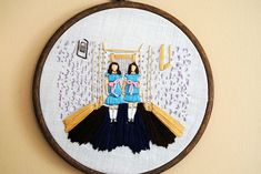 """Come play with us, Danny. . . ""  stitched by Drop Dead Quirky.  This is so nice, it's making me giddy."