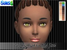 giadollie's Face Highlight for Child Sims