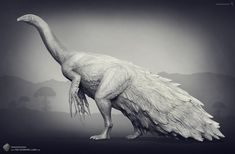 Therizinosaurus. The Stomping Land. 02 by Swordlord3d on deviantART