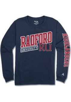 Product: Radford University Highlanders Long Sleeve T-Shirt