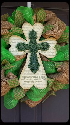 St. Patrick's Day Wreath St. Patrick's Day by SouthernThrills