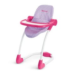 Bitty's High Chair | furnbb | American Girl