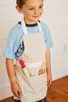 Apron PDF Pattern pattern styles, 5 different sizes).new in the SHOP Child's Apron PDF Pattern versions, ages print, and cut out the pattern size you need! Childrens Apron Pattern, Child Apron Pattern, Apron Pattern Free, Childrens Aprons, Apron Patterns, Dress Patterns, Sewing For Kids, Baby Sewing, Diy For Kids