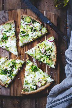 Thin and Crisp Gluten-Free Pizza Dough {Whole-Grain + Gum-Free} | The Bojon Gourmet