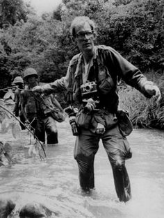 Larry Burrows, digital journalist. Burrows died along with three other photographers and seven South Vietnamese soldiers over Laos in 1971 when their helicopter was shot down.