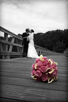 Wedding Reception Bride & Groom bouquet Black and White photography Love marriage