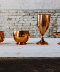 copper vessels for florals