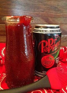 I L.O.V.E. Dr. Pepper! It's my daily guilty pleasure. I also L.O.V.E. BBQ! So of course… I took the two and threw them together. What happened next was one big ol' grill full of h…