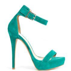 Bellagio heels Seafoam brand heels JustFab