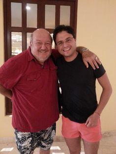 Oscar Cadena y el Morris.