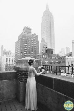 Stunning shot of the bride. DUMBO, Brooklyn, New York #DUMBO #Brooklyn #NewYork #bride #wedding #timeless