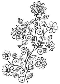 Amazon.com: Hero Arts Woodblock Stamp, Swirl Vine: Arts, Crafts & Sewing