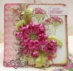 Heartfelt Creations   Happy Birthday Pink Enchanted Mum