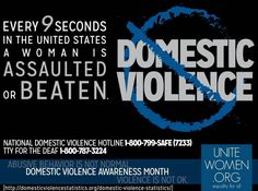 Domestic Violence and Child Abuse Awareness!