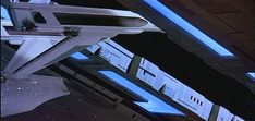 https://flic.kr/p/mhsqmk | Space Dock with USS Enterprise escaping | Star Trek III: The Search for Spock (1984)
