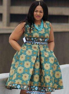 short african dresses designs 2016 2017 - style you 7 Short African Dresses, Ankara Short Gown, Short Gowns, African Print Dresses, African Fashion Dresses, African Prints, Ghanaian Fashion, African Inspired Fashion, African Print Fashion