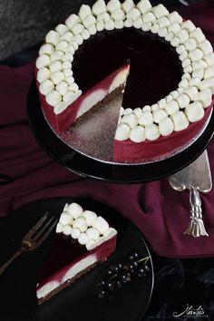 Johannisbeer-Mascarpone Torte – Sweet World Ideas Easy Cake Recipes, Baking Recipes, Sweet Recipes, Dessert Recipes, Fancy Desserts, Fancy Cakes, Food Cakes, Sweet Bakery, New Cake
