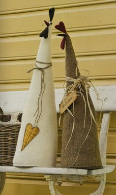 Use this idea to make soft sculpture tepees