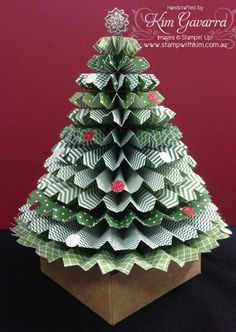 """Search Results for """"rosette tree"""" – Stamp With Kim, Stampin' Up! Paper Christmas Decorations, Christmas Paper Crafts, Christmas Art, Christmas Projects, Holiday Crafts, Christmas Ornaments, Autumn Decorations, Handmade Christmas Tree, Homemade Christmas Gifts"""
