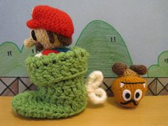 Boot-er luck next time, Goomba! by anenemyairship, via Flickr