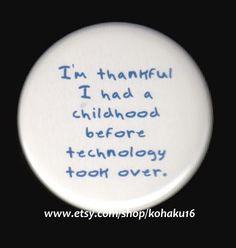 Childhood Nostalgia Button by kohaku16 on Etsy