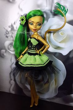 Jinafire Repaint by Marina Gridina / SnowSpring Dolls (vk.com/snowspring.dolls)