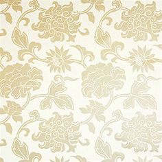 Pattern 	Harmony Damask –Wallpaper Collection 	Tea House Colorway 	Metallic Gold SKU 	T5363