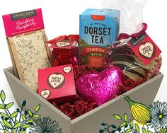 Win a Valentine& Hamper with Dorset Tea™ and Chococo Dorset Tea, Hamper, Free Food, Herbalism, Raspberry, Gift Wrapping, Valentines, Fruit, Giveaways