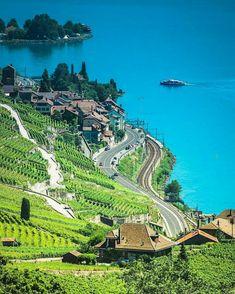 Lavaux, Switzerland Suiça Zugang zu unserem Blog finden Sie viel mehr Informationen https://storelatina.com/switzerland/travelling #recetas #suiçaviagem #viagem #foodswitzerland