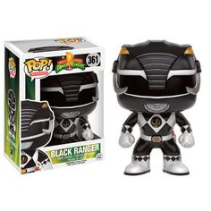 Power Rangers Pop! Vinyl Figure Black Ranger : Forbidden Planet