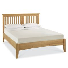 Venus Oak Bedstead - This bedroom range is a perfect blend of traditional & contemporary styles. Enhanced by the natural beauty of oiled American Oak solids and veneers with a lacquer finish. The Venus bedroom is a timeless range that offers elegance and practicality. Wood slatted base. Surround in Oak & lacquer finish. Co-ordinating furniture in the range.