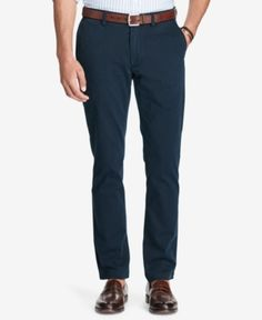 Polo Ralph Lauren Men's Slim-Fit Chino Pants - Navy 34x32