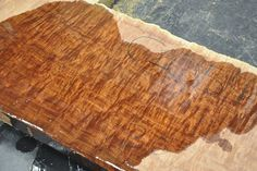 Jarrah Flitch C2051-C2060:  heavy figure, beautiful red color ~ Hearne Hardwoods Inc.