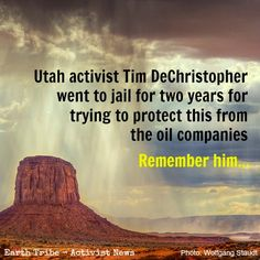 Remember Tim DeChristopher