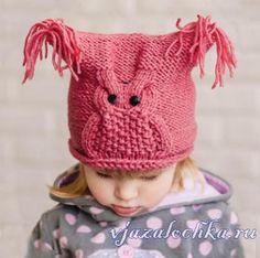 Crochet Cap, Filet Crochet, Cap Girl, Baby Girl Patterns, Knit Baby Sweaters, Baby Hats, Baby Knitting, Knitted Hats, Crafts