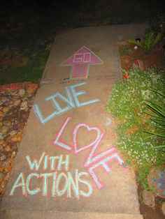 Go Live Love With Actions