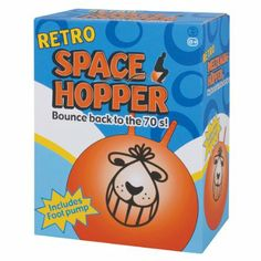 Amazon.com : Space Hopper Ball - Retro Orange Bouncing Ride-on Ball (colors may vary) : Childrens Hopping Balls : Toys & Games