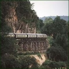 Traveling on the Orient Express...would love t odo that one day.